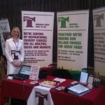 Taste Tideswell display at Peak District Tourism Conference